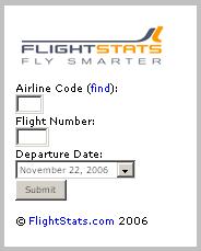 Flight Stats Image