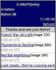G-SNAP! Aviation Nation SnapCast