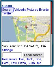 Glocut Local Mobile Search