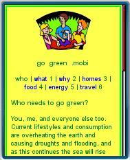 Go Green .mobi