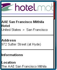 Hotel.mobi listing