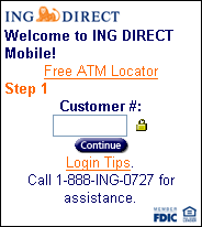 Ing Direct Usa Login