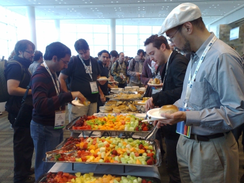 Breakfast at Google I/O