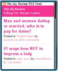 The Lily Review Mobile