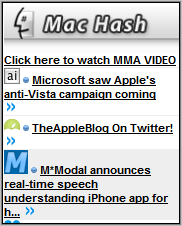 Mac Hash Homepage