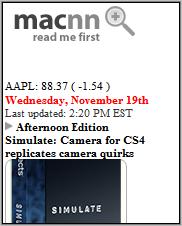 macnn Homepage