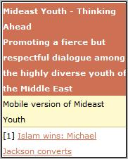 Mideast Youth Homepage