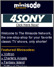 Minisode Network