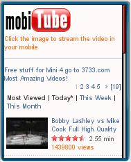 mobiTube - Mobile YouTube Download