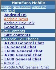 MotoFans Homepage