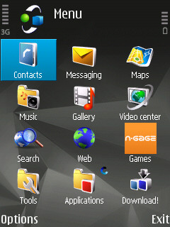 N95 8GB Black Theme