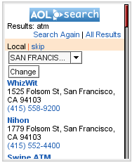 AOL result