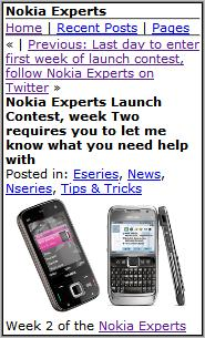 Nokia Experts Mobile