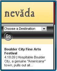 Nevada Tourism Mobile Site