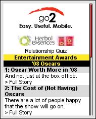 Go2 Oscars Site