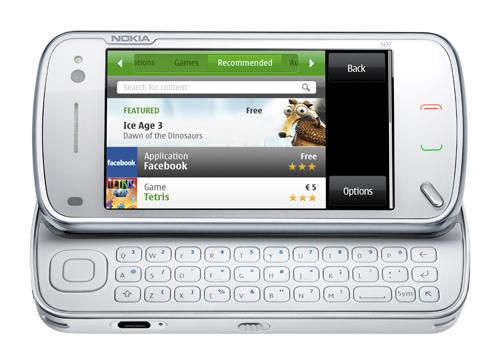 Ovi App Store on N97