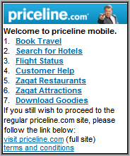 Priceline Mobile