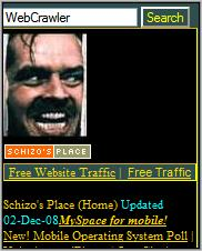 Schizo's Place homepage