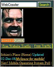 Schizo's Place homepage