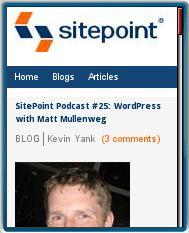 Sitepoint.com Mobile
