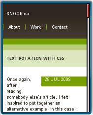 SNOOK.ca Mobile View