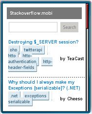 Stackoverflow.mobi