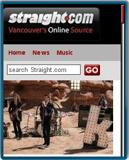 The Straight Vancouver Mobile Site