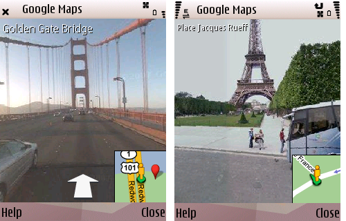 Google Streetview on S60