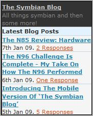 The Symbian Blog - Homepage