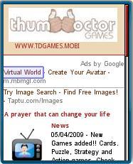 TDGames.mobi Homepage