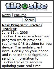 TiltSite Front Page