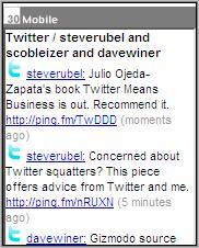 Twapper Mobile Twitter Client