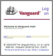 Vanguard.mobi - text is unreadable