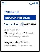 IMDb result