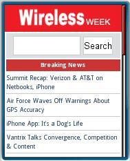 Wireless Week Mobile Site