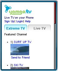 Yamgo Mobile TV