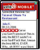Yelp Mobile
