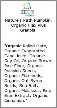Zeer Ingredients