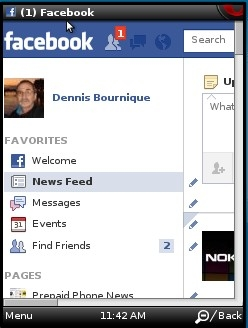 Facebook Full Site in Opera Mini