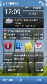 N8 Homescreen 1