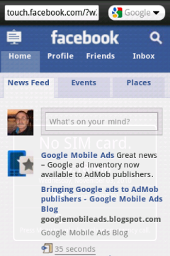 Opera Mini 5.1 New - Facebook