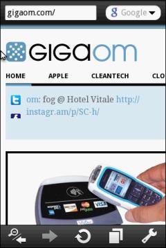 Opera Mobile - GigaOm