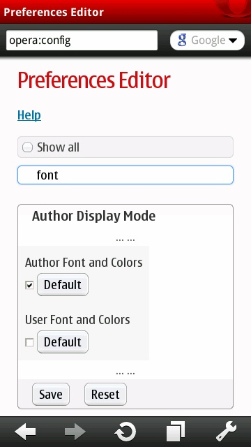 Search For Font
