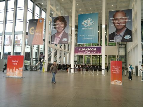 Entrance to Tech.Ed Europe 2010