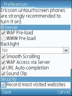 UC 7.5 - Preload Settings