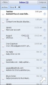 iPhone Gmail