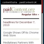 Paid Content Mobile