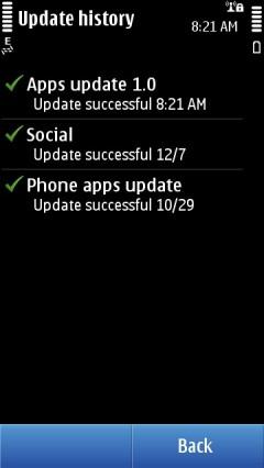App Update Installed