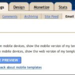 Blogger in Draft - Mobile Templates