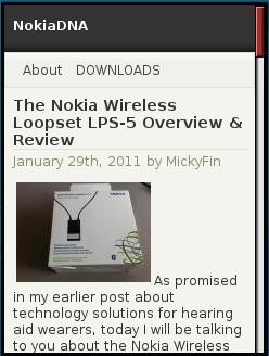 Nokia DNA